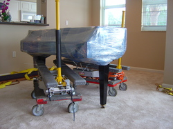 Cheap Storage - moving Piano